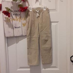 4/$9 Boys Tan Casual Stretch Waist Pants